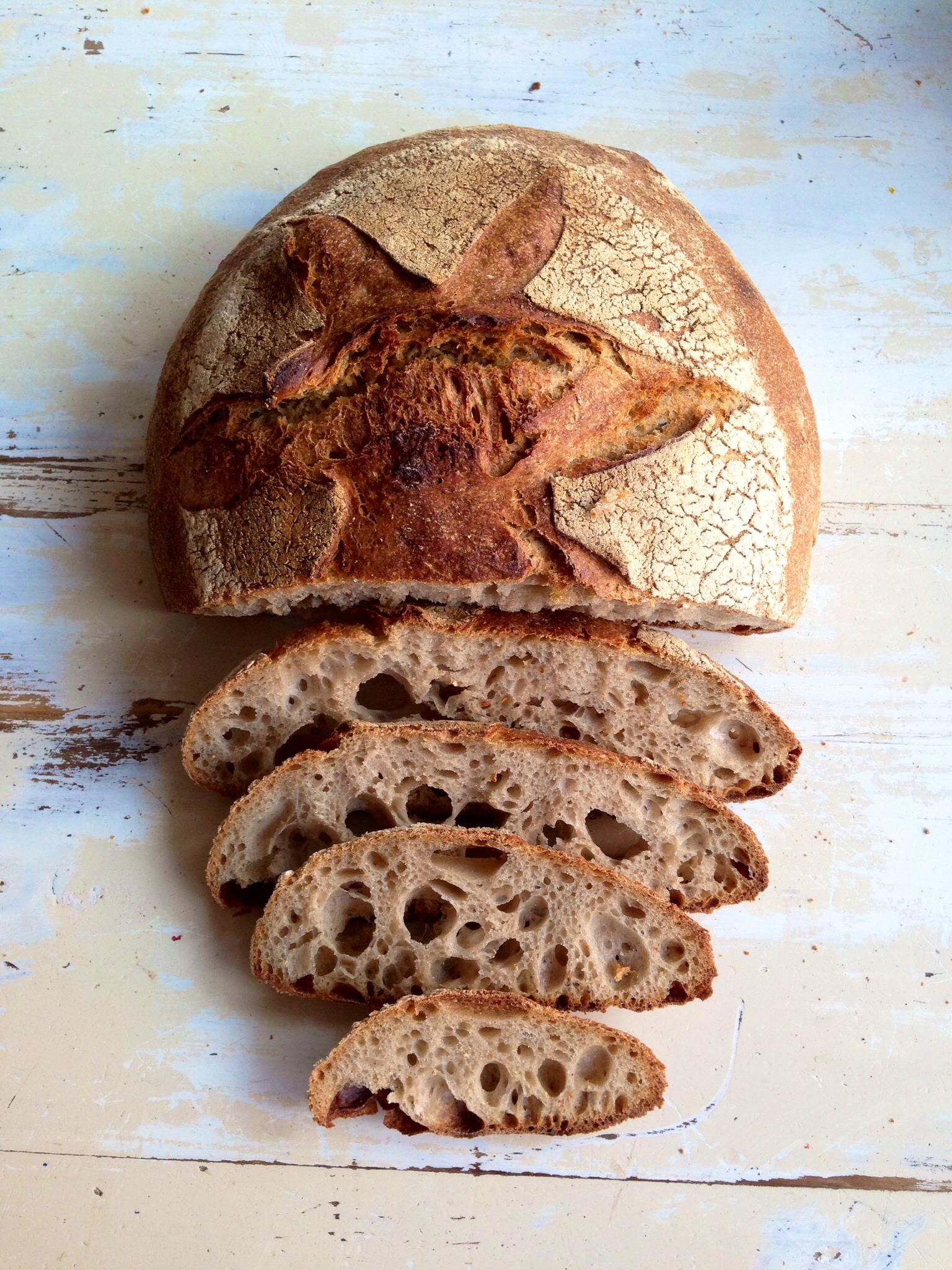 Pan de hogaza El Horno de Babette