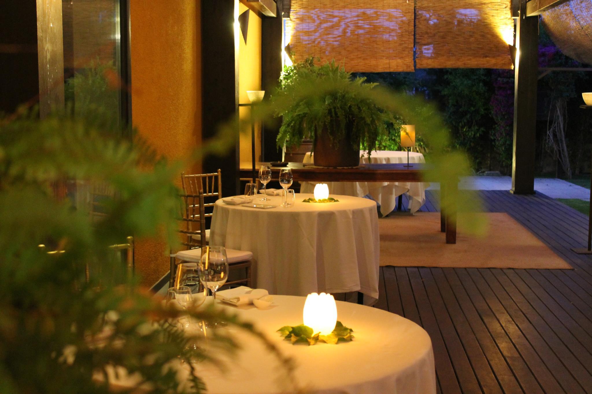 Terraza del restaurante La Finca (Elche) de Susi Díaz