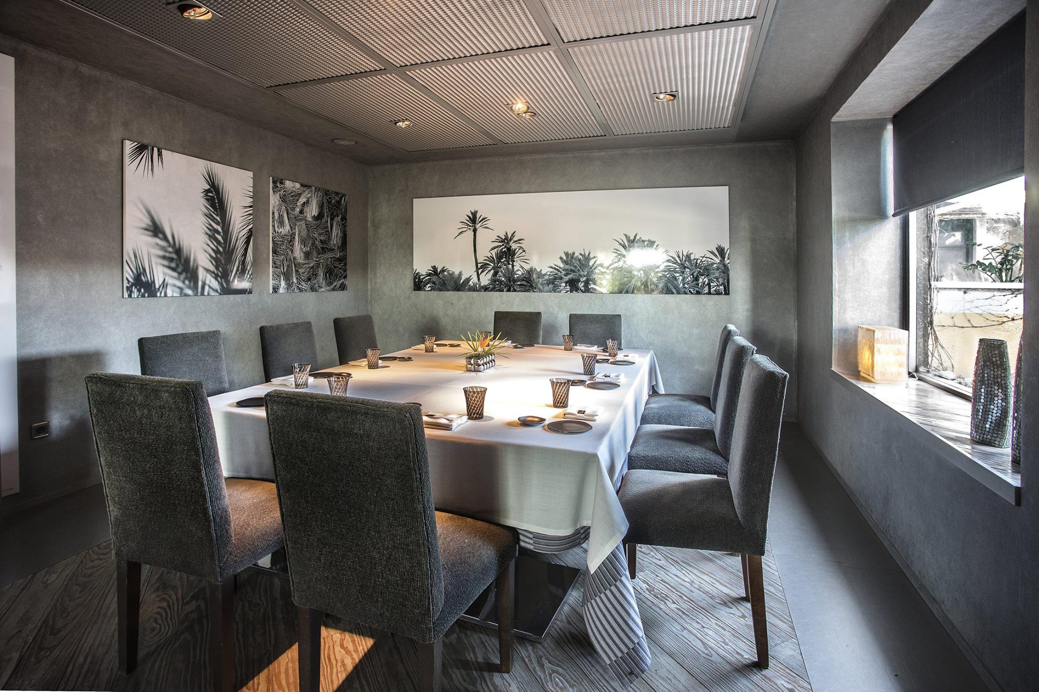 Salón privado del restaurante La Finca (Elche) de Susi Díaz