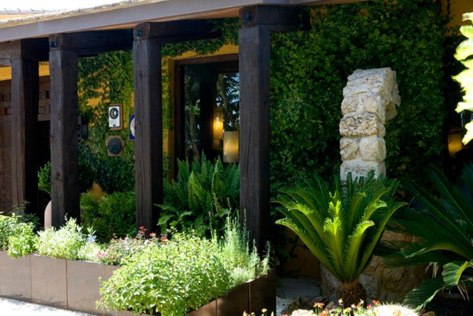 Entrada del restaurante La Finca (Elche) de Susi Díaz
