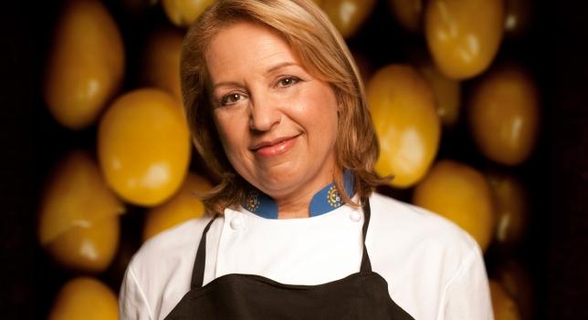 Susi Díaz, Jefa de Cocina de La Finca (Elche) y jueza del concurso Top Chef