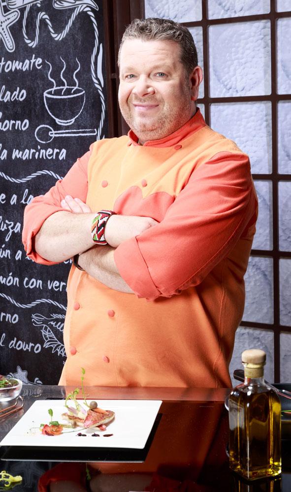 """Alberto Chicote, presentador de """"Pesadilla en la cocina"""" y Top Chef y propietario de Yakitoro"""
