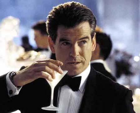 james Bond y su martini
