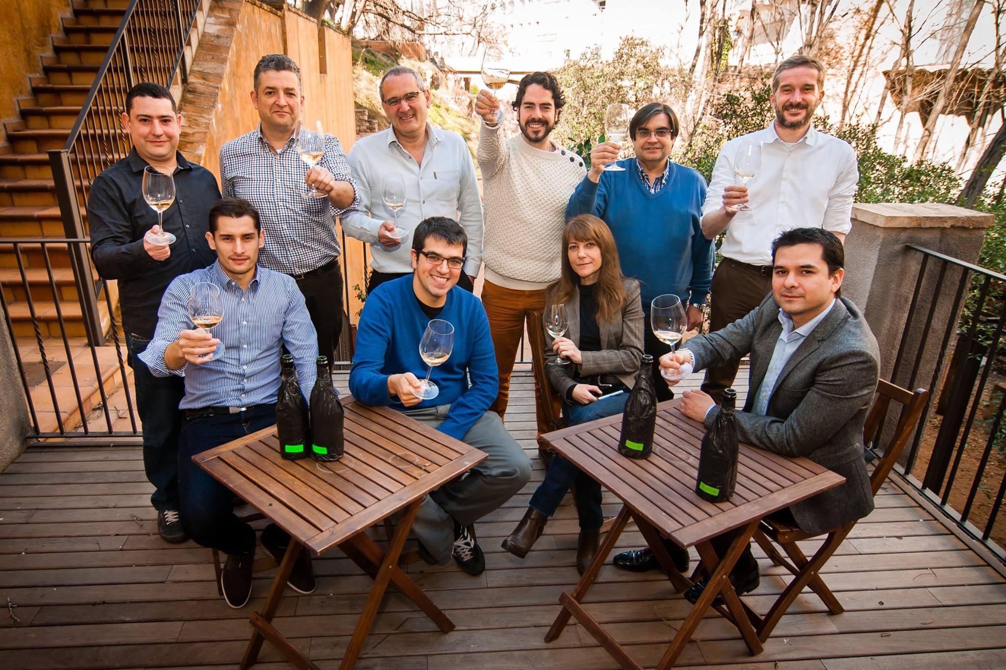 Juancho Asenjo comité de cata Jordi Melendo