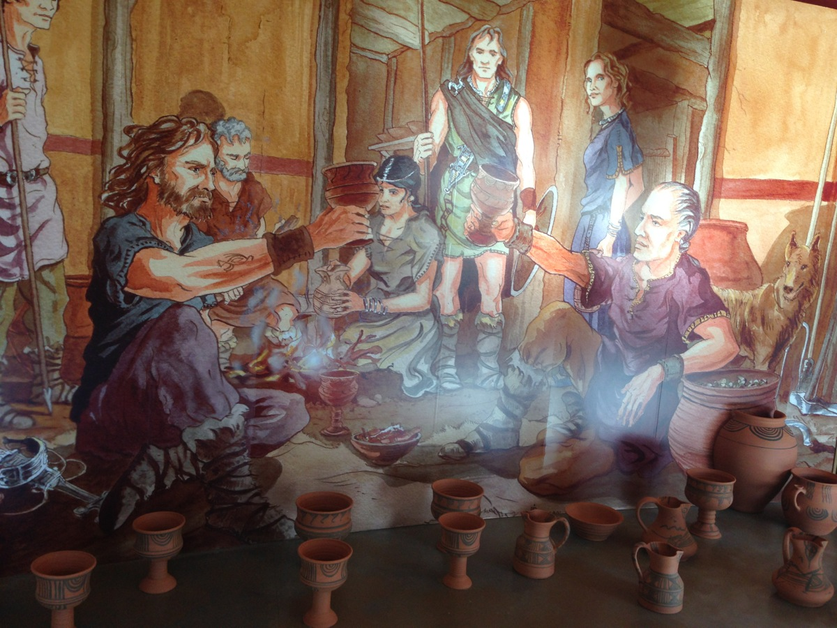 Bodegas Emina museo mural romano