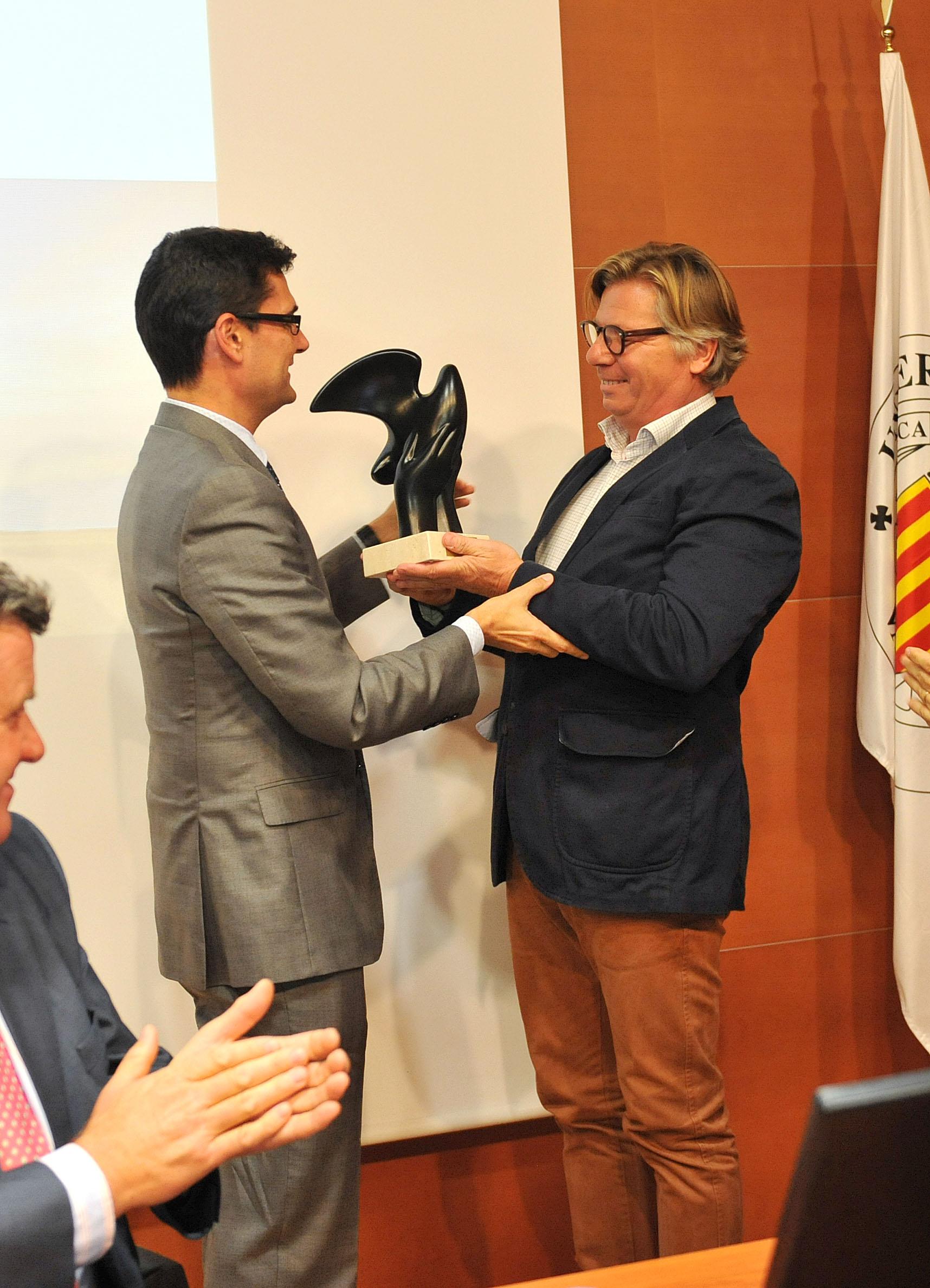 Peter Sisseck recibe premio Terroir