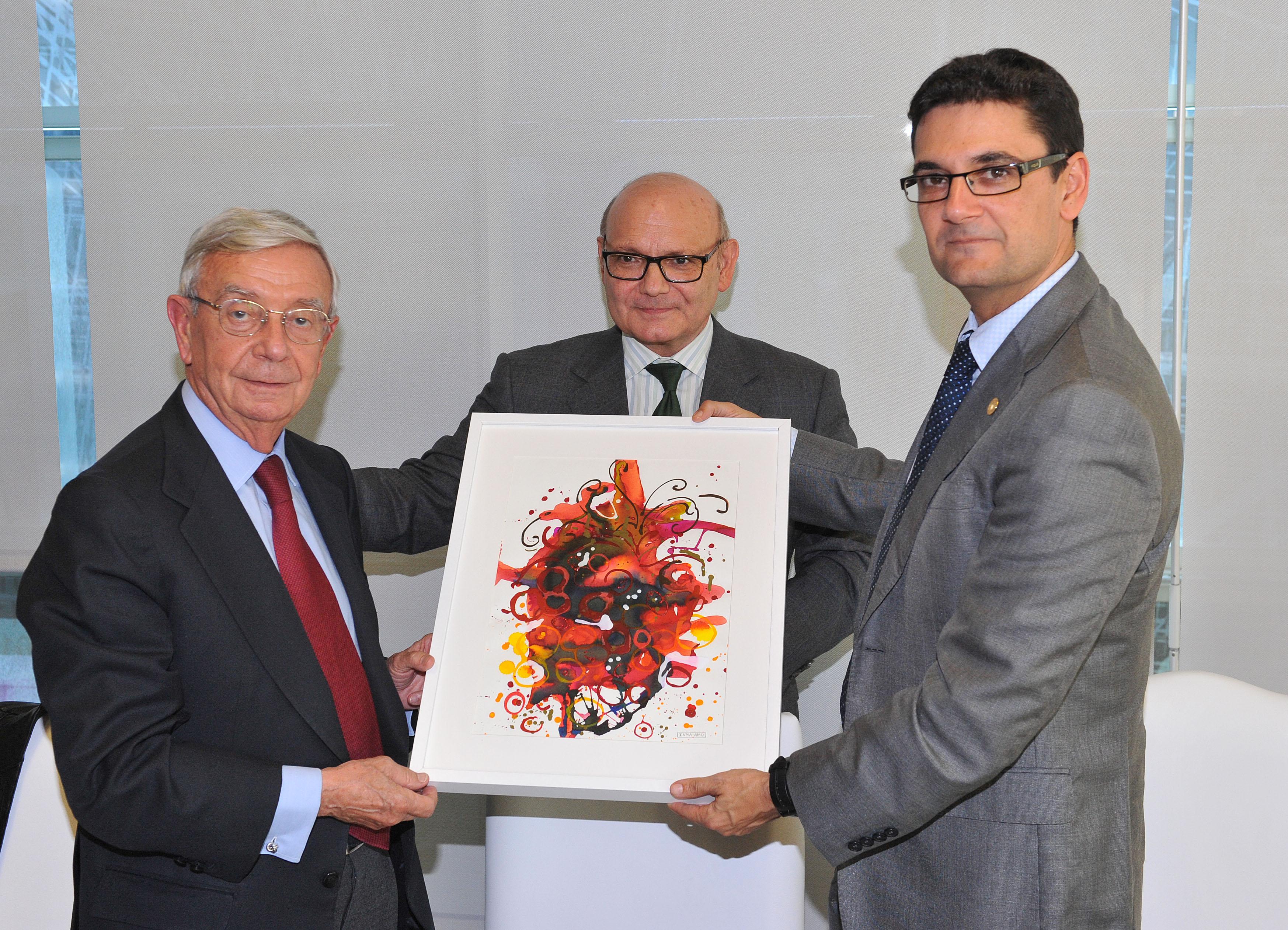 Cuadro primigenio obsequio a Rafael Ansón Oliart