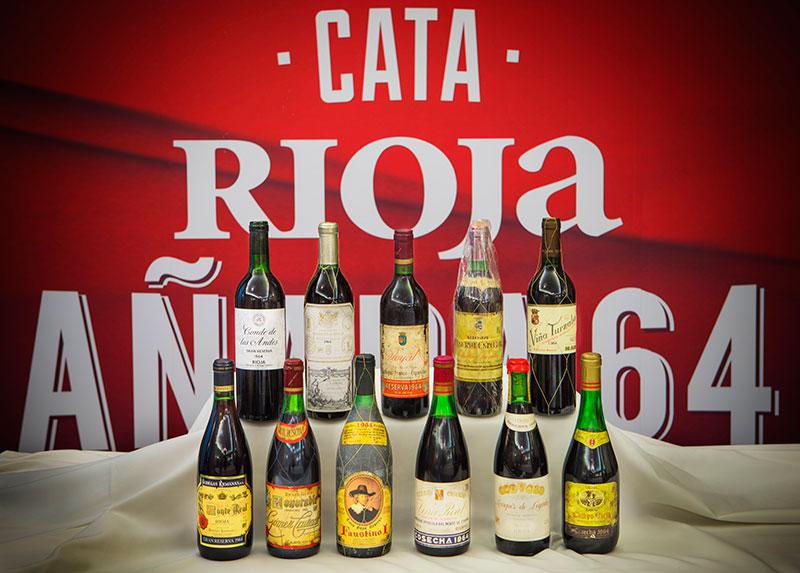 Cata Rioja 50 Aniversario añada 1964