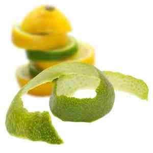 Corteza de cítricos para el Gin Tonic