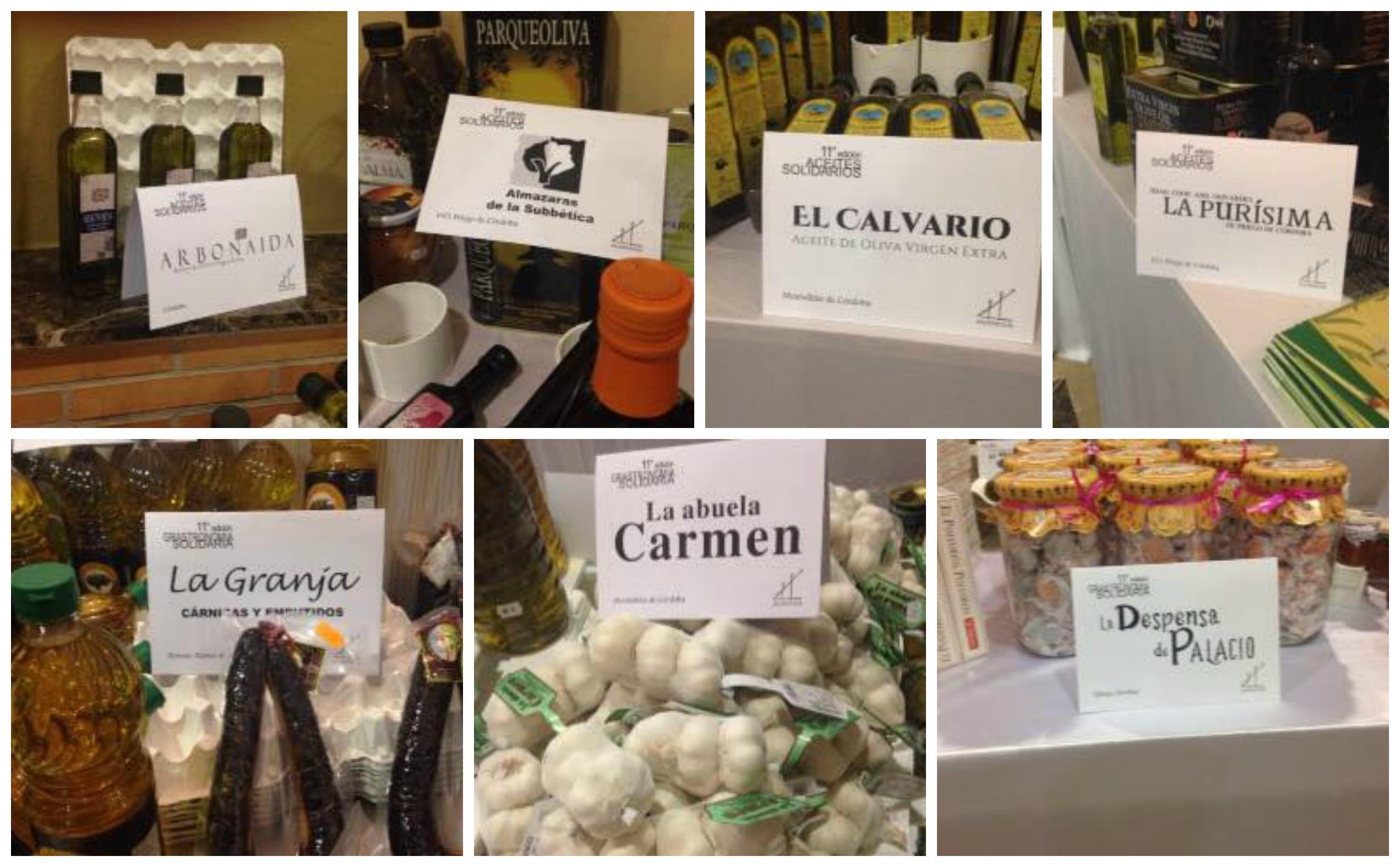XI Edición Salón del Vino, Aceite y Gastronomía Solidarios: aceites y productos gourmet