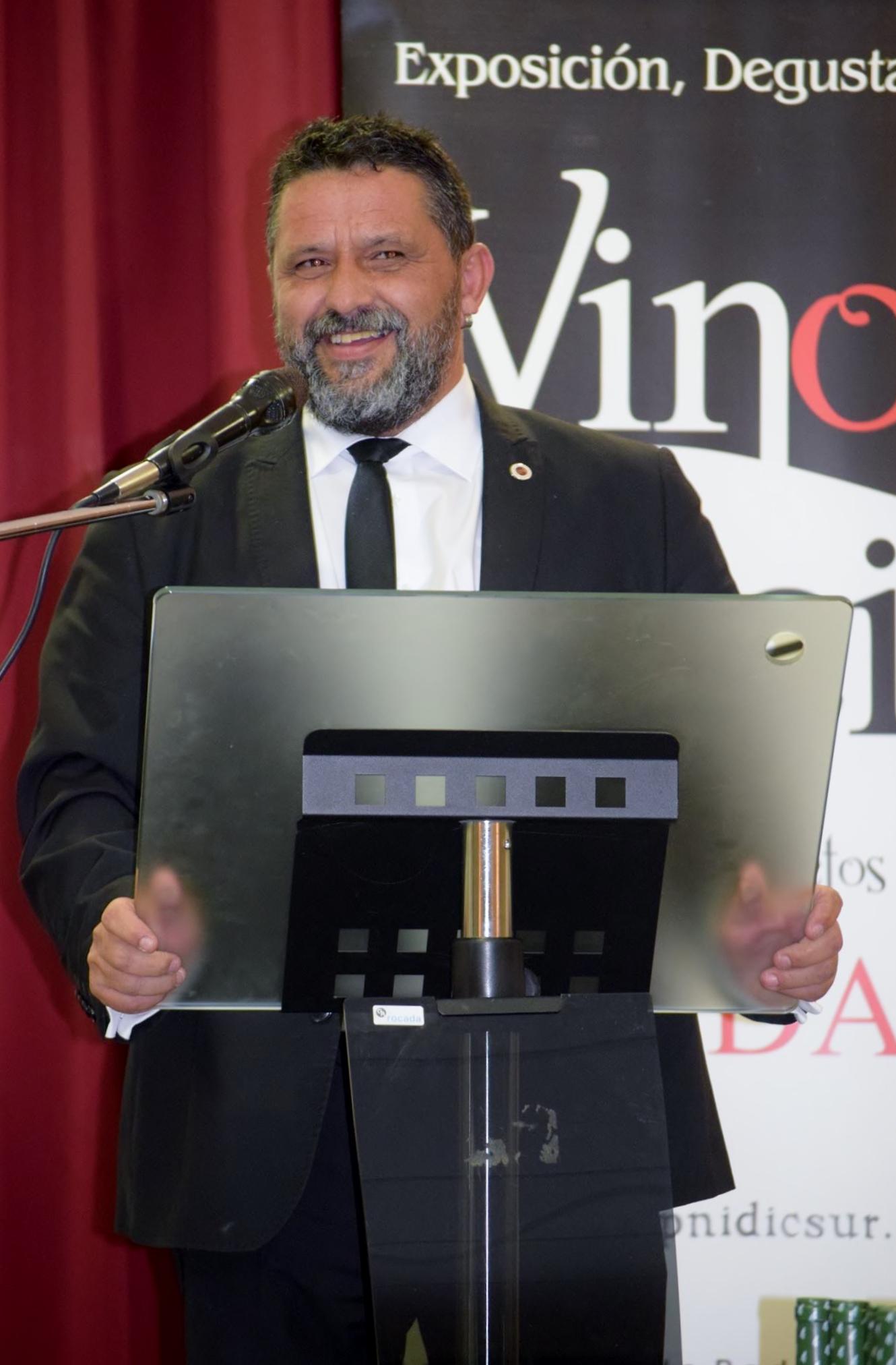 XI Edición Salón del Vino, Aceite y Gastronomía Solidarios: Alfonso Ariza de APAPNIDCSUR