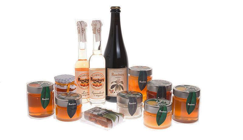 Productos gourmet de Ruchey. Cooperativa Callosa d'en Sarrià