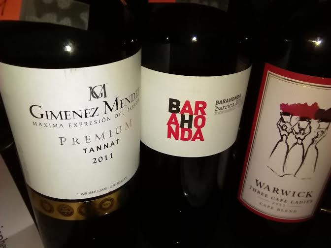 3 vinos catados