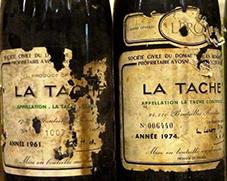Ejemplo de vinos de guarda