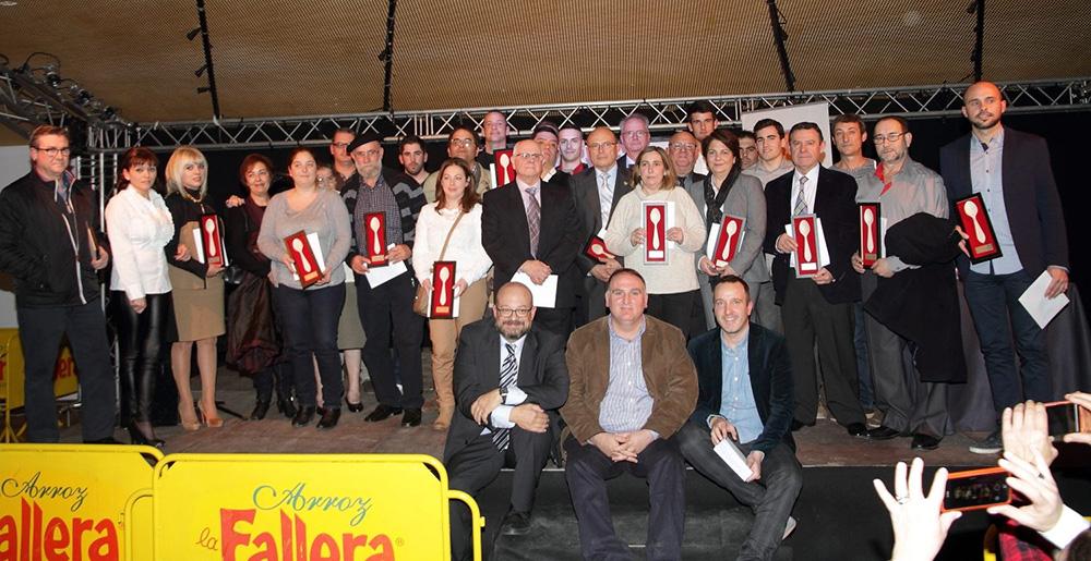 """Relación de restaurantes premiados con la máxima distinción """"restaurante Cullera de Fusta"""""""