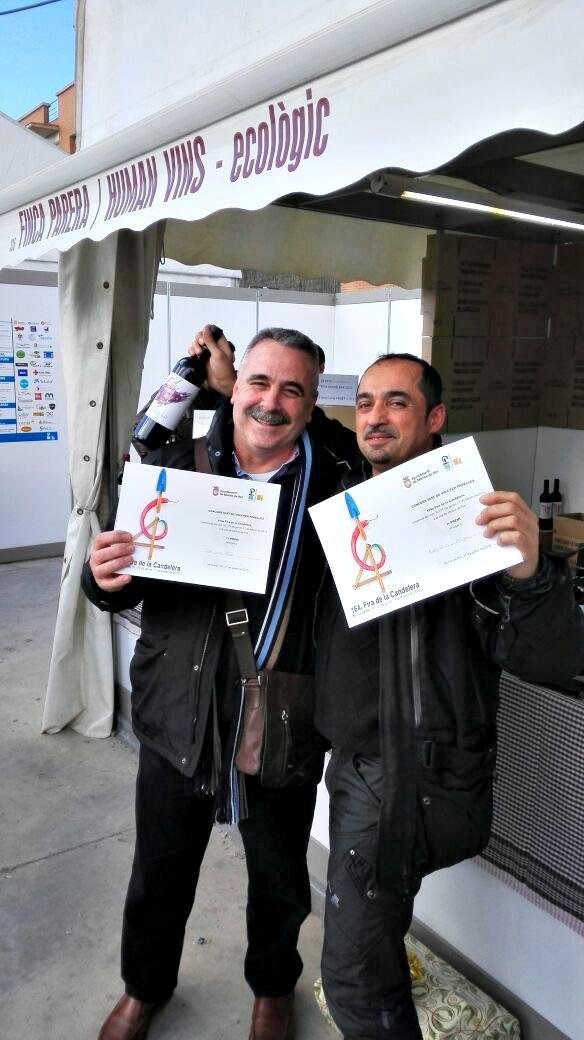 Pepe Cano y Rafa Blanco Concurs tast de Vins per Parelles