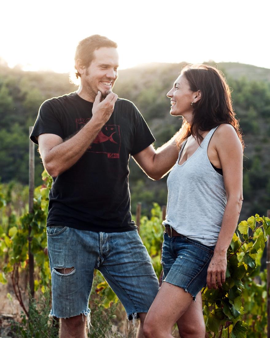 Sara Pérez y René Barbier