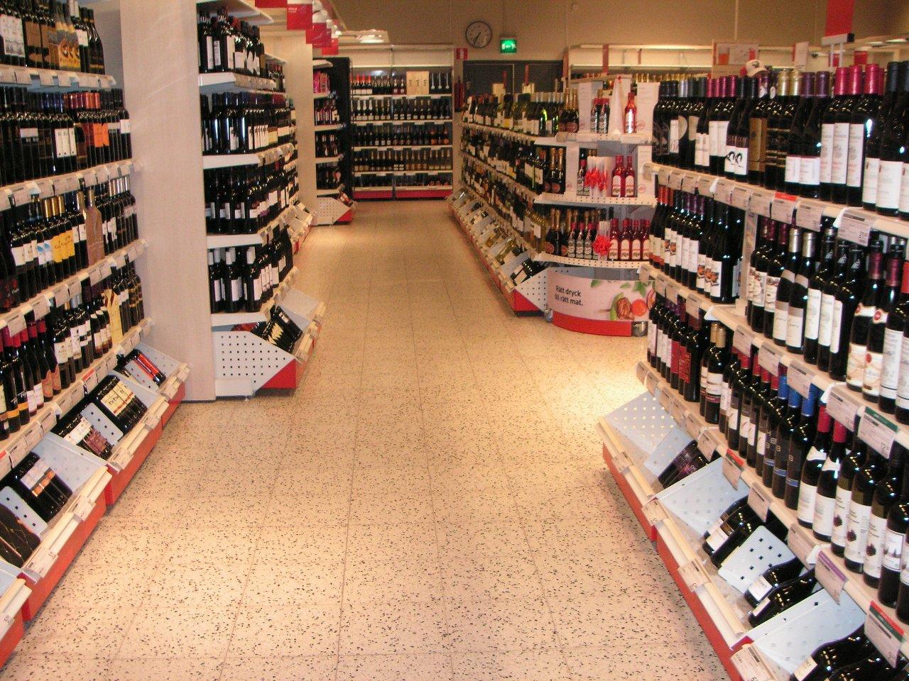Supermercado Alko en Helsinki