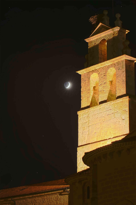 Abadía Retuerta LeDomaine de noche
