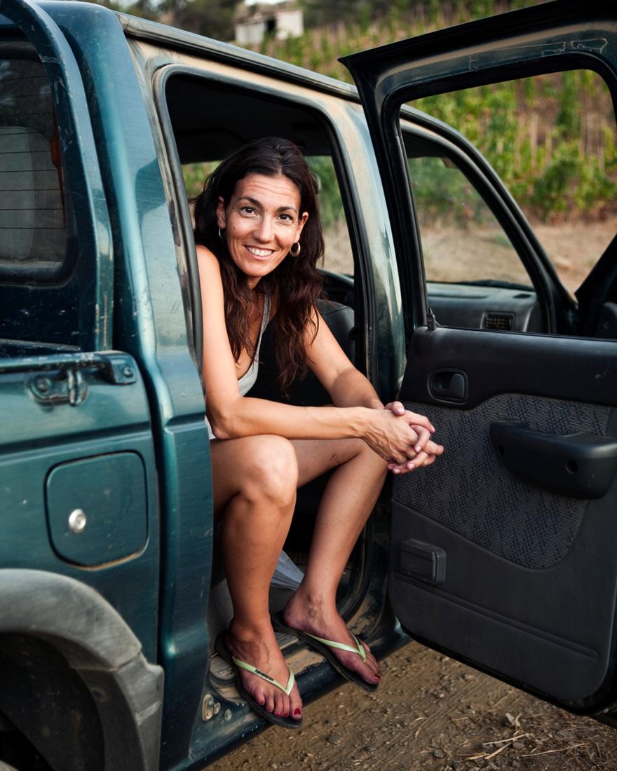 Entrevista a Sara Perez Personaje Vino 2014 Sara en furgoneta