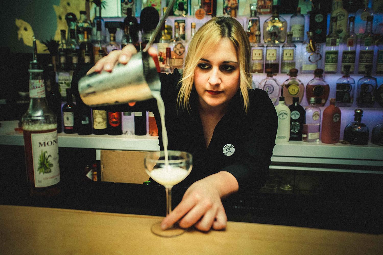 Bartender de Corazón de Agave