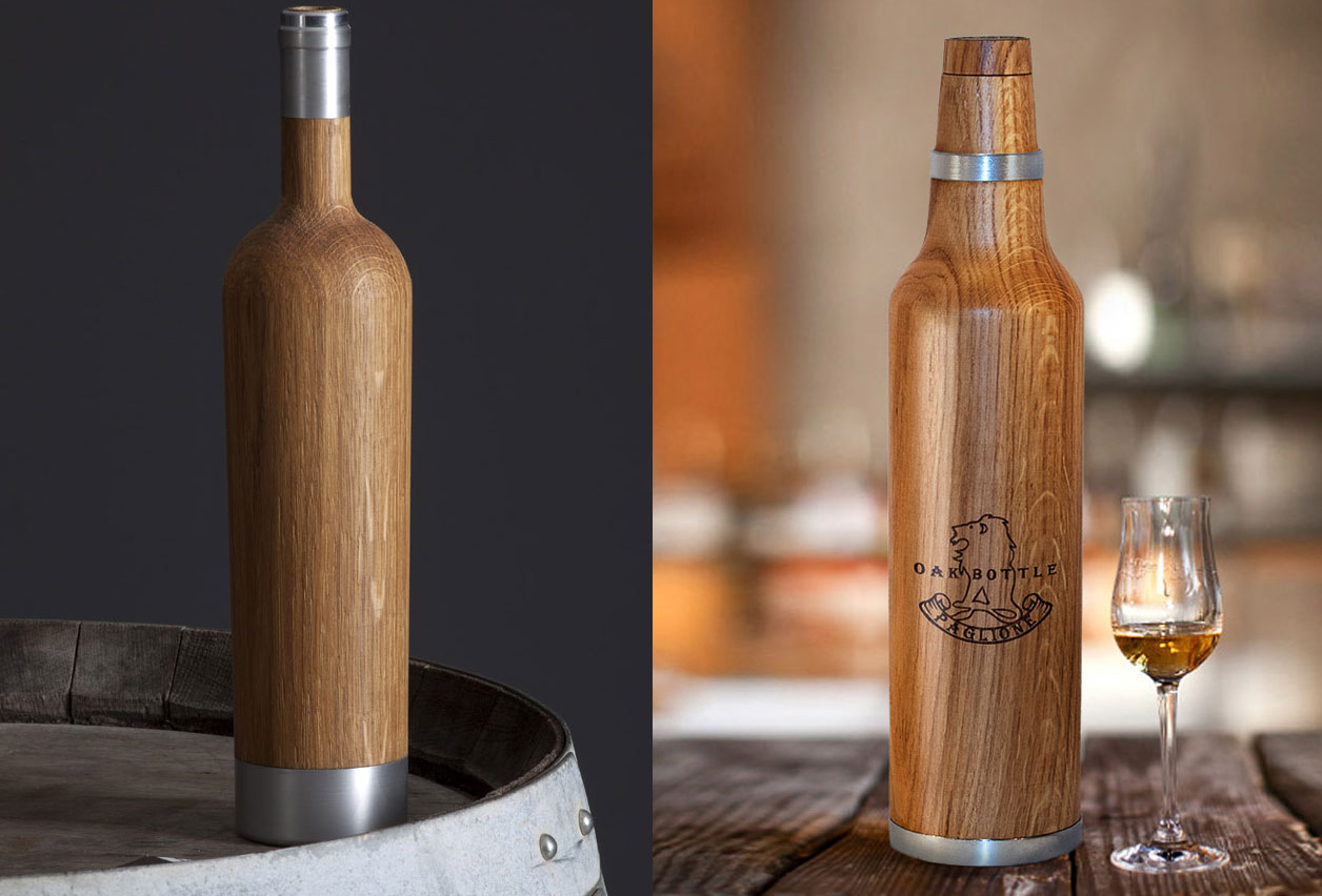 Accesorios para vino Pinocchio Barrique y Oak Bottle