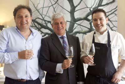Presentación Vinos Abadía Retuerta con: Ángel Anocibar, Enrique Valero y Pablo Montero