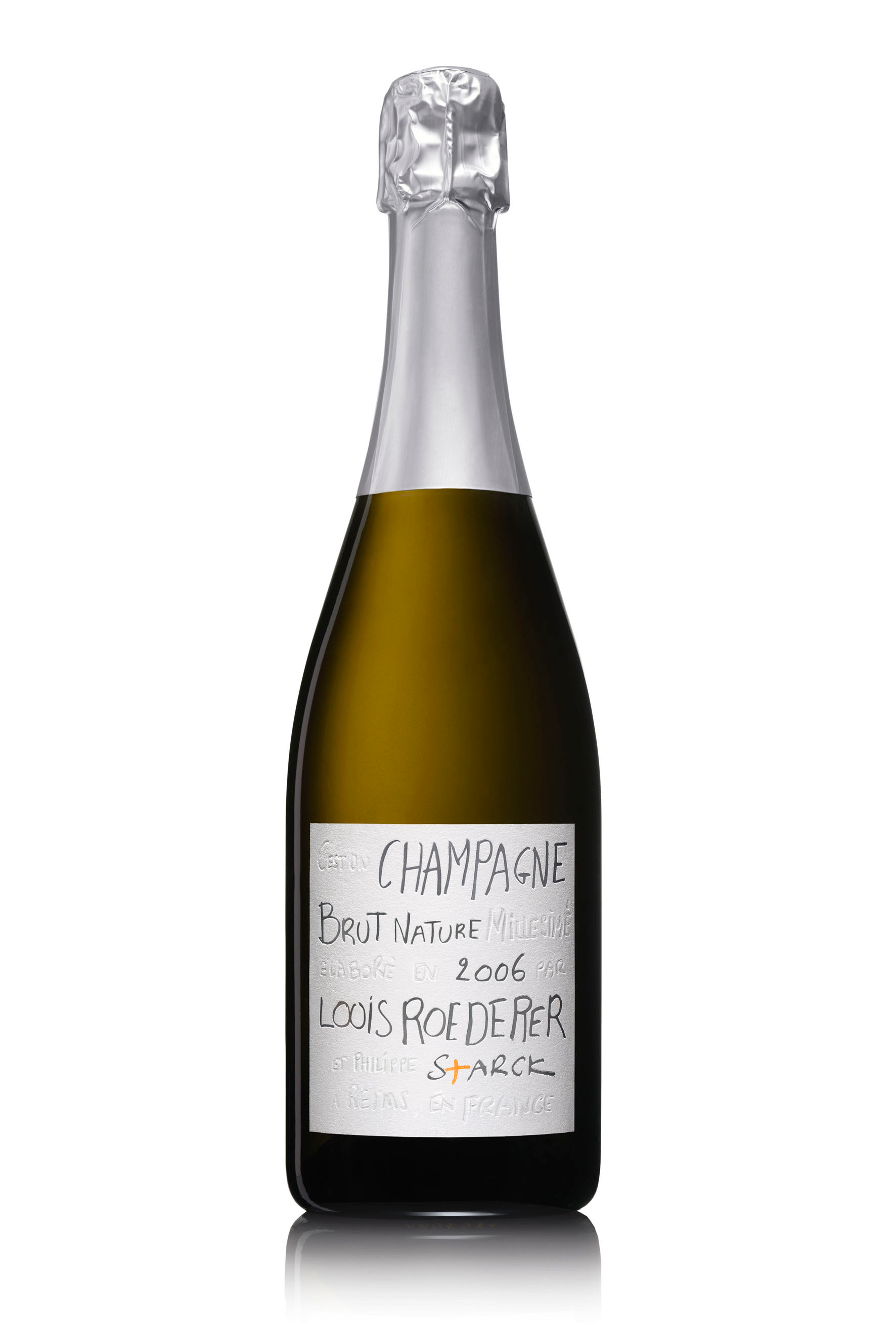 Louis Roederer Brut Nature 2006 by Philippe Starck