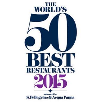 Logo de los premios Los 50 Mejores Restaurantes del Mundo, Revista Restaurant