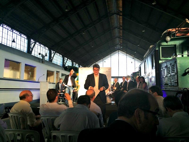 Presentación en Madrid de La Cata del Barrio de La Estación