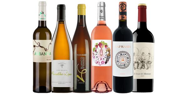 Lote de vinos del Club Verema - julio 2015