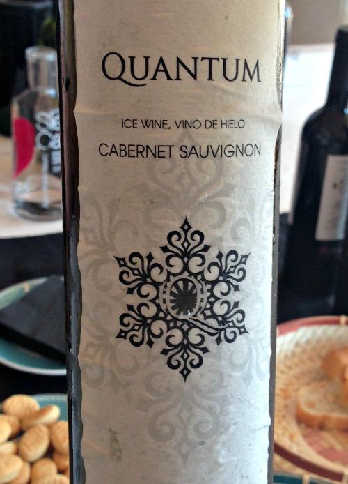 Quantum Ice Wine de Cabernet Sauvignon: pura delicatessen de Vinícola de El Molar