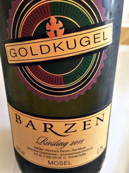 Barzen Goldkugel 2011
