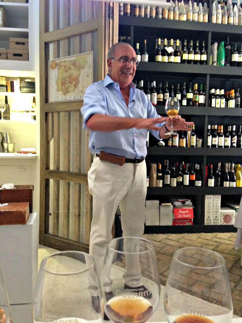 Antonio Flores, director técnico y enólogo de González Byass
