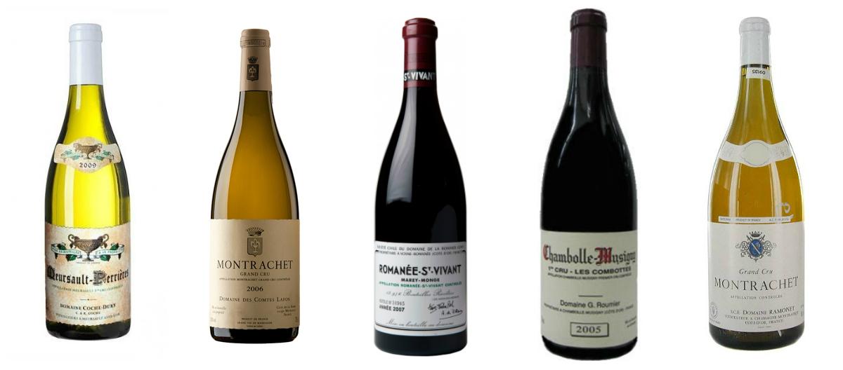 Los vinos más caros del mundo según la Web Wine Searcher