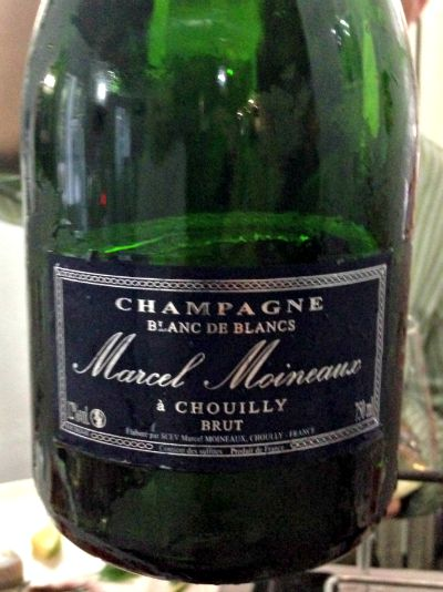 Champagne Marcel Moineaux Reserve 2005, cata Los Innombrables