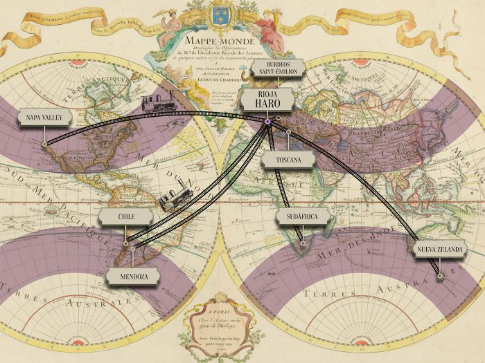 Mapa mundi antiguo, Cata de la Estación