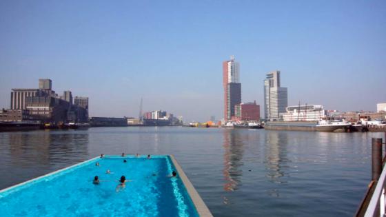 zwemmen-in-de-maas