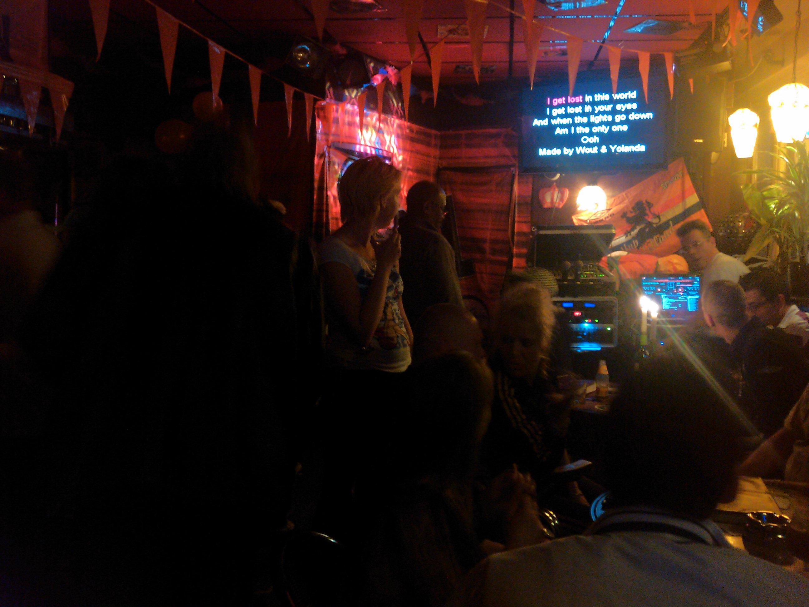 Cor's karaoke