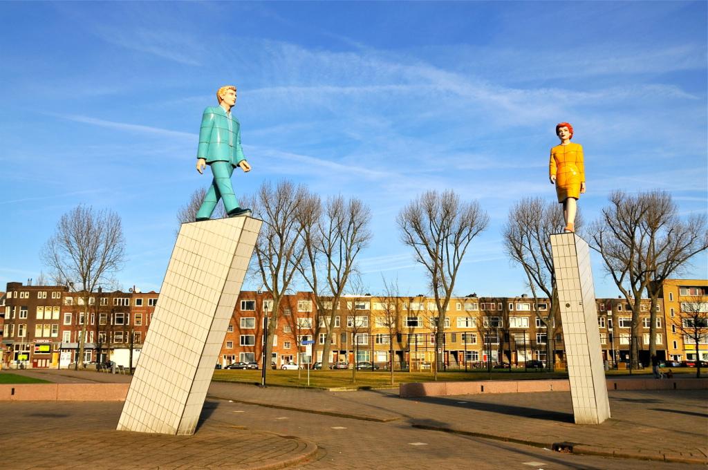 'Citywalk' op Zuidplein