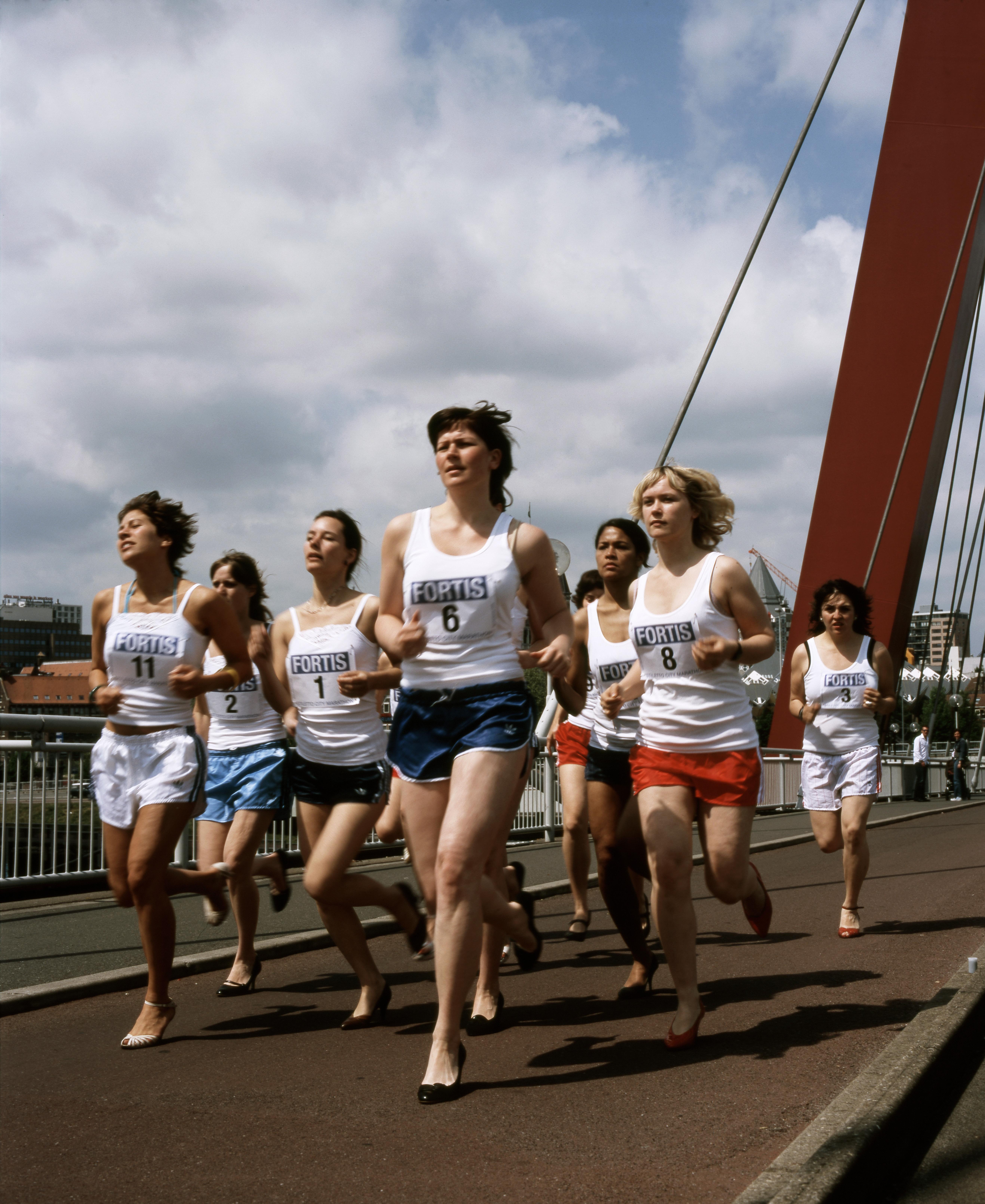 Pumprace op de Willemsbrug