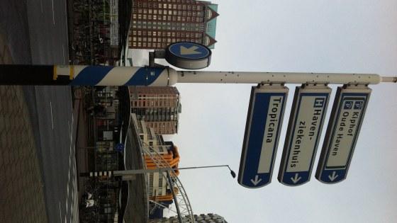 Wegwijzer naar Tropicana