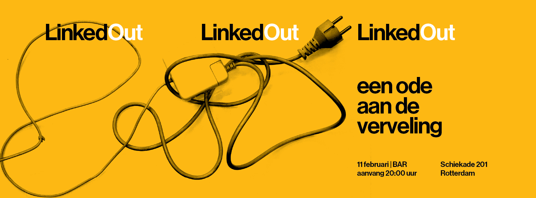 Linked Out flyer