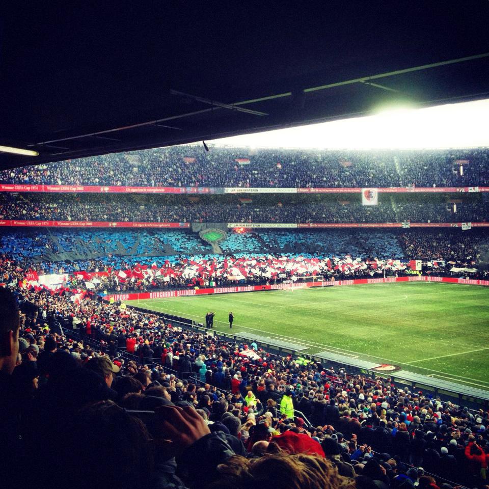 Derde ring Feyenoord - PSV