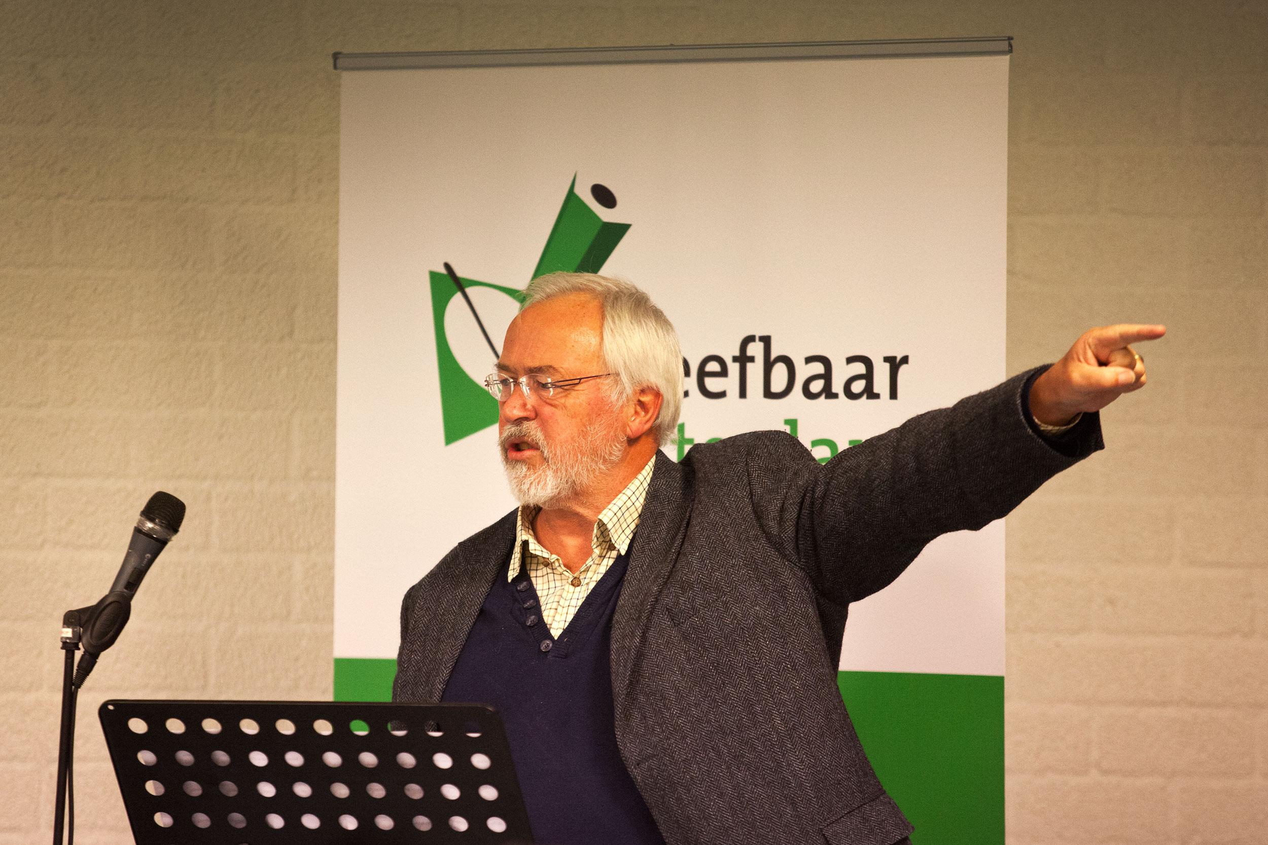 Ronald Sørensen voor Leefbaar Rotterdam in Ommoord