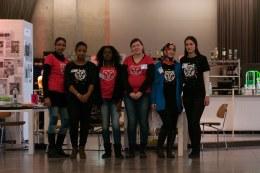 Vrijwilligers van het IFFR: de dames van de kids corner