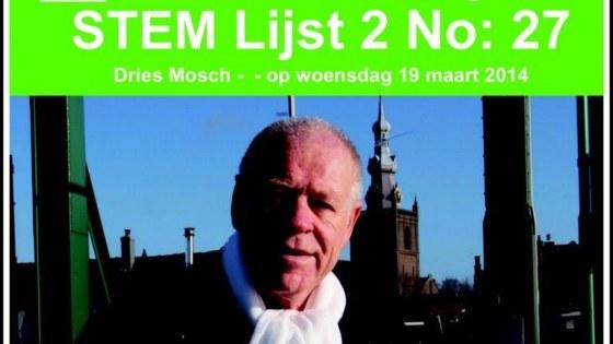 Leefbaar Rotterdam Dries Mosch nr 27