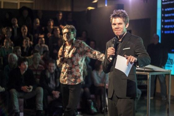 Frénk van der Linden en Victor Vlam