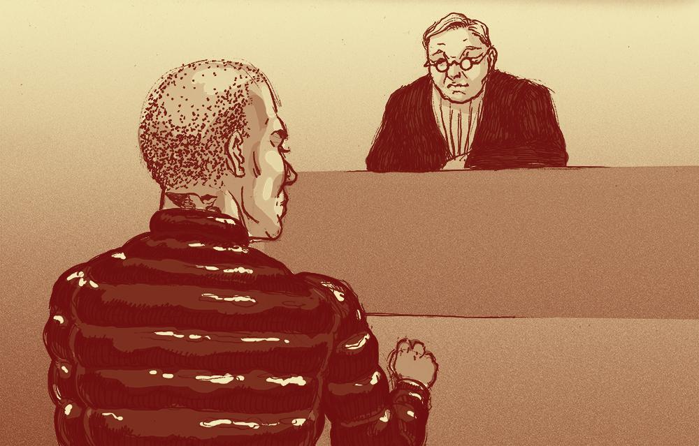 Rechtbankverslag: Franklin voor de rechter