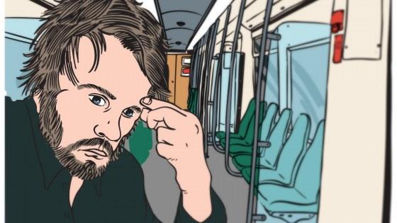 Schrijver in de stad: metro Slinge